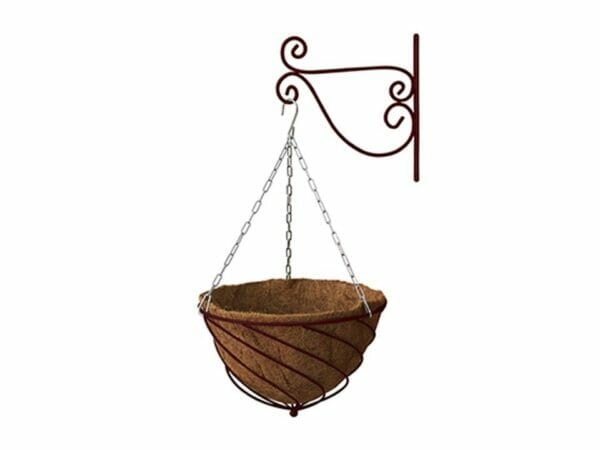 Red Wine Colored VegTrug Hanging Basket Planter