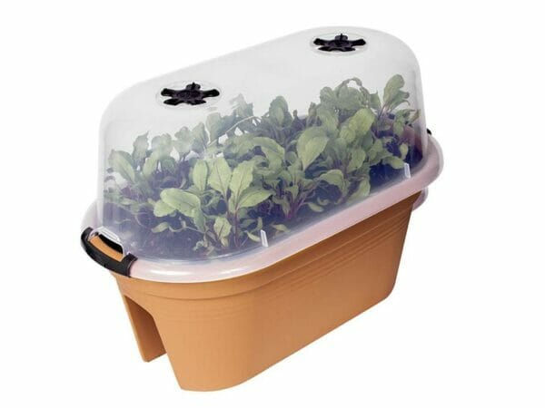 ELHO Oval Bridge Planter with Cover