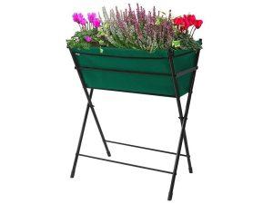 Green Poppy Go VegTrug with plants