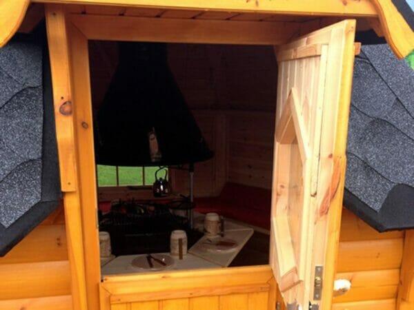 KOTA Grillhouse - Split Opening Front Door