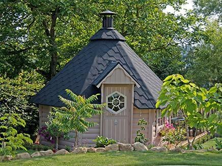 Kota Grill House in a garden