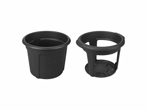 ELHO Potato Pot Planter. The outer pot on the left side and the inner pot on the right side.