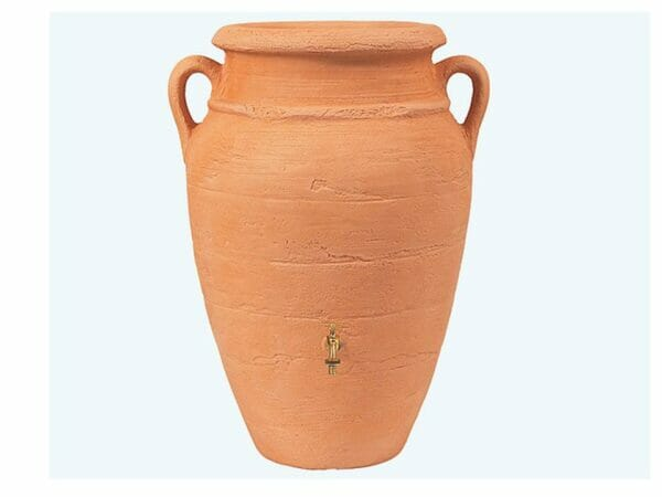 Roman Rain Barrel with Planter