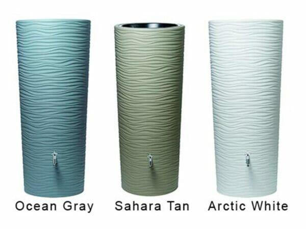 Wave Barrel Colors - Ocean Gray, Sahara Tan, and Arctic White