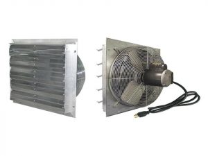 Exaco Exhaust Fan in 24inch size from front and back