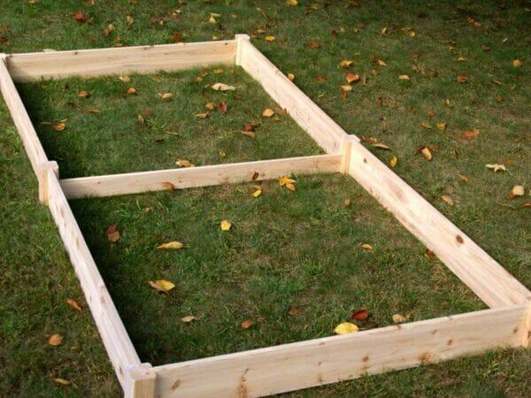 Eden Raised Garden bed - 4 x 8 ft garden provides raised gardening surface