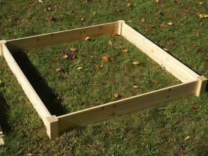 Eden Raised Garden bed - ground frame planter provides raised gardening surface