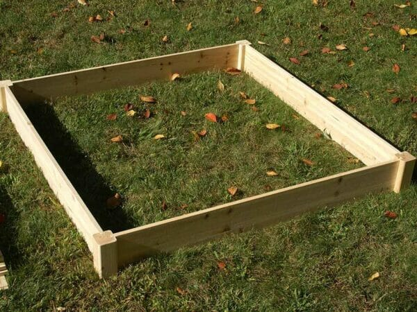 Eden Raised Garden bed - ground frame planter provides raised gardening surface