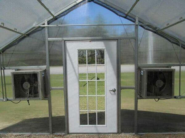 RSI Educational Greenhouse Motorized Shutters