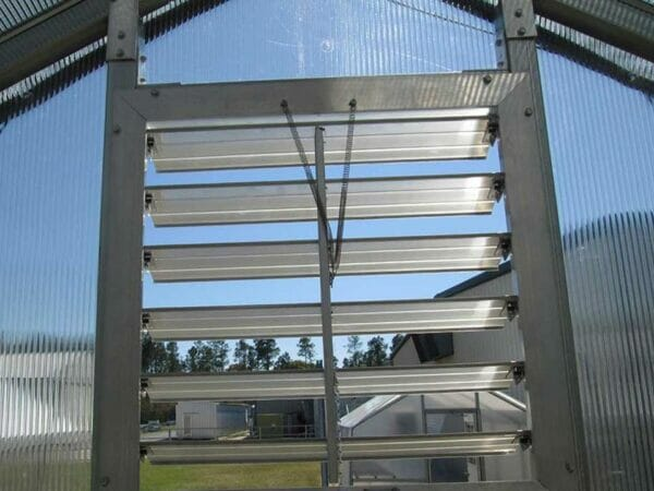 RSI Educational Greenhouse Open Louver Window