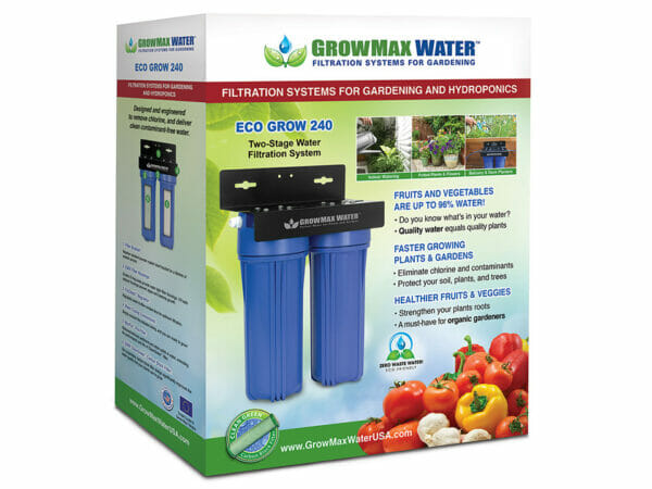 Box of GrowMax Eco Grow 240 Water Filtration System