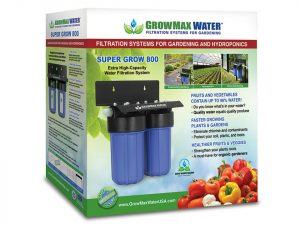 Box of GrowMax Super Grow 800 Water Filtration System